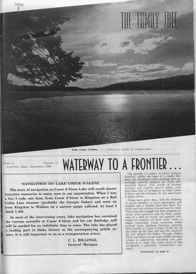 the family tree collection  a potlatch forests  inc  newsletter