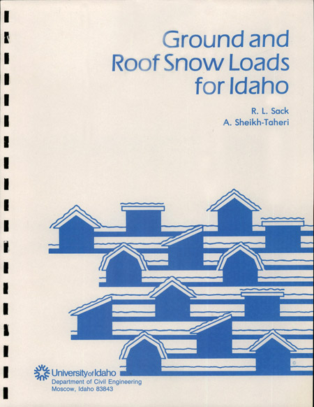 Ground and roof snow loads for idaho digital initiatives for Snow loads on roofs