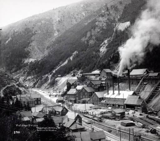 Hercules Mill, Burke (Idaho), 1907