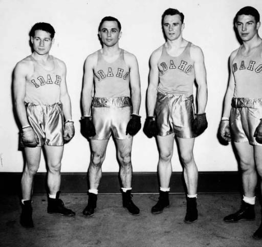 1947-1948 University of Idaho boxing squad