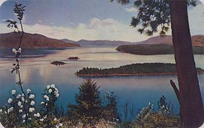 Syinga Time, Lake Pend Oreille, North Idaho
