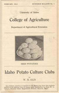 Idaho Potato Culture Clubs | Feb. 1912