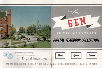 Gem of the Mountains Digital Yearbook Collection
