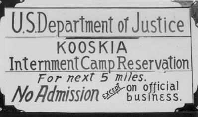 Kooskia Internment Camp Scrapbook