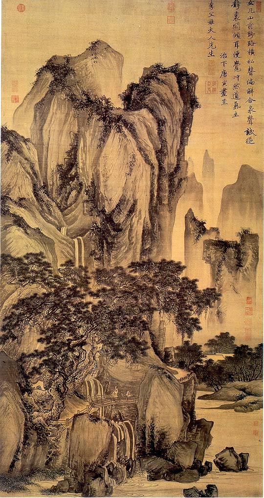 Landscape Paintings of Tang Yin