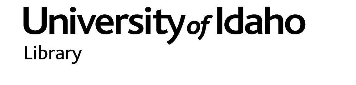 University of Idaho Library logo.