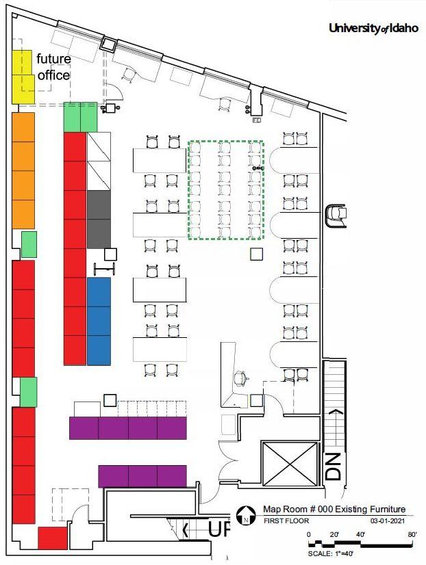 draft map room floor plan
