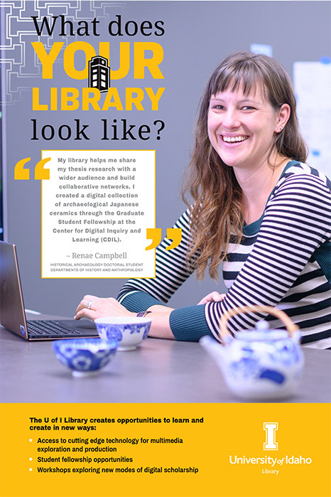 Renae Campbell My Library Poster