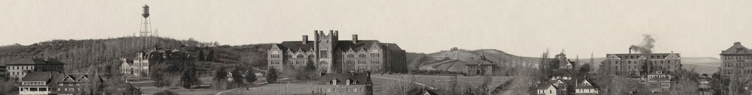 1917 panoramic photograph of the University of Idaho campus