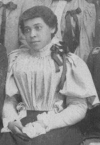 Jennie Hughes Smith - Cropped from the graduation photo from 1899