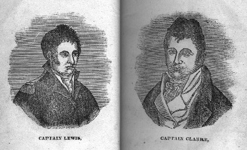 Illustration: Captain Lewis & Captain Clarke.