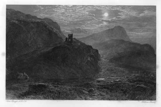 Engraving: Muschat's Cairn, 1873.
