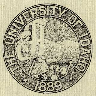 University of Idaho Seal 1908